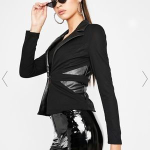 Strictly Bish'ness Collar Blazer